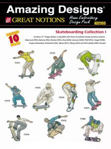 Amazing Designs / Great Notions 2055 Skateboarding Multi-Formatted CD