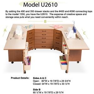 Sylvia, KIT-U2610, Color, Combination, Cabinet, Units, 610, 350, 490, 350, 620R