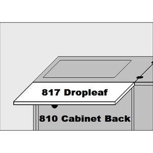 Sylvia 817 Dropleaf Accessory for 810 Cabinet