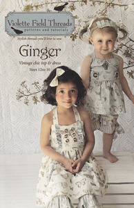 Violette Field Threads VF06  Ginger Top And Dress Size 2-10