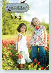 Violette Field Threads VF07 Lucy Pants and Capri Size 2T-10yrs