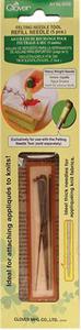 38225:  Clover CL8906 Felting Heavy Wt 5 Needle Refill, Box of 3, for Felting Needle Tool