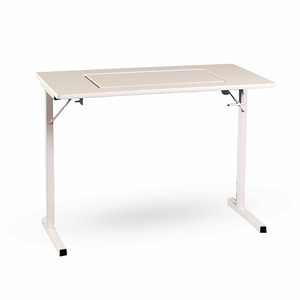 """Fashion Sewing Cabinets 299 Folding Leg Tressel Table 40x20x30""""H, Choose White or Maple, Requires Optional Insert to Flush Mount Your Sewing Machine"""