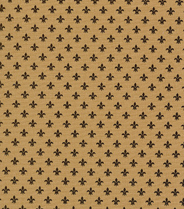 Fabric Finders 1239 15 Yard Bolt 9.34 A Yd 1239 Bronze Fleur de lis Print 100%Cotton 60inch