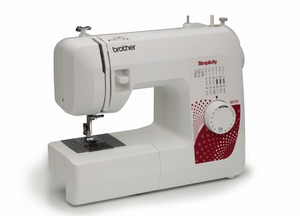 Simplicity Brother Demo SB170 Simply Affordable 17Stitch Mechanical Freearm Sewing Machine, Top Drop In Bobbin, LED Light, Best Buy in Consumer Digest