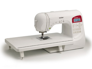 Brother Simplicity SB3129 Simply Creative 129 Stitch Computer Sewing Machine, 10-1Step Buttonholes, 3 Fonts, +Extension Table, Case, Best Buy Consumer