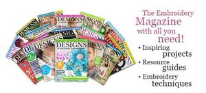 DIME Designs in Machine Embroidery Magazine 6 for 5 Issue Subscription Offer Download