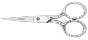 "Clauss 12310 4"" Hot Forged Embroidery Scissor with Double Sharp Points Snip Clips Fine Sewing Thread to Light Wire"