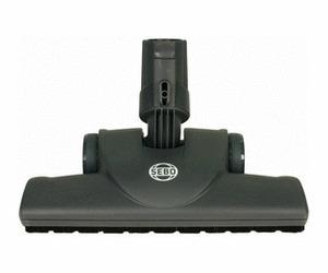 Sebo Attachment 7200DG FELIX & Canister Premium Parquet Brush (dk gray, Ice Blue)