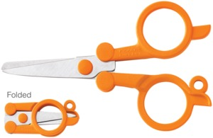 39446: Fiskars 5434 4 Inch Folding Scissors