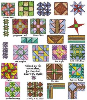 Amazing Designs CARD BMC ER1 Eileen Roche Quilt Connection Collection 1