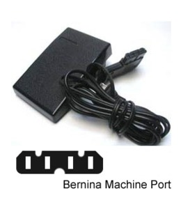 39618: Generic Foot Control 0049307001R Type 290 Pedal and Cords for Bernina 4 Prong
