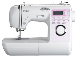 Brother Innovis, NS 40 DEMO Stitch, Project RUNWAY Computer, LCD Sewing Machine, 1 Step Buttonholes, Needle Threader, Top Drop In, Quick Set Bobbin, Drop Feed Control, Speed Limit Control, 14 Pounds,