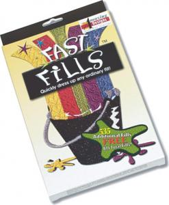 Amazing Designs Fast Fills Software AD-FF, Over 200 Fill Patterns, Preview, adjust pattern angles on the carved fills to create your own unique fill