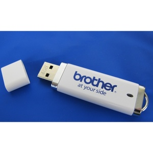 Brother Genuine SAUSB1 4GB USB Memory Stick Flash Thumb Drive Key, to Store or Transfer Designs, Download Firmware Updates
