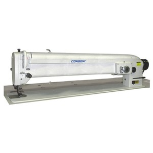 """39872: Consew 146RBL-3A-1 30"""" Longarm 3/8"""" 9.5mm 3 Point Zigzag Walking Foot Sewing Machine, Single"""