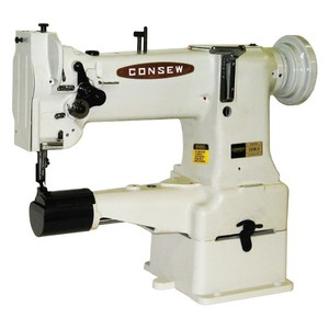 39885: Consew 223R-2 Cylinder Arm Needle Feed Lockstich Sewing Machine/Stand