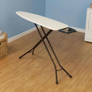 House, hold, Essential, Iron, Board, Deluxe, 25, mm, 4, Leg, Bronze, finish, Fixed, Rest, 100%, cotton, cover, Natural, 5, fiber, pad