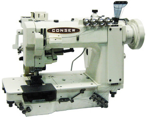 39962: Consew 3324 4-Needle High Speed Double Chainstitch Machine (Optional Stand)