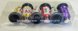 Ozeki Brother Japan UltRapos 6 Spool Radiant Metallic Embroidery Threads