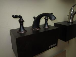 Kohler 394-4-BRZ-AB Faucet Display Model