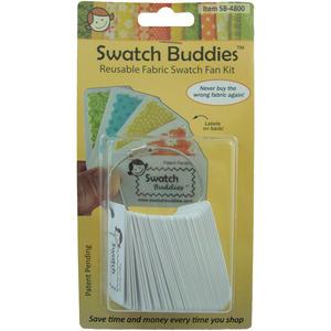 Swatch Buddies SB-4800 Swatch Buddies Fabric Fan, 48 pack