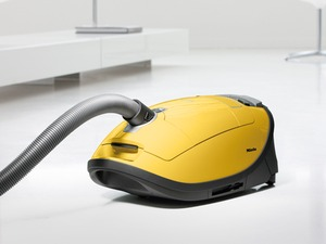 Miele S8390 Calima Canary Yellow Canister HEPA Vacuum Cleaner