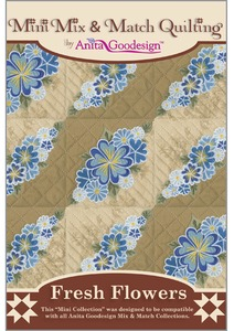 Anita Goodesign 140MAGHD Fresh Flowers Large Designs Multi-format Embroidery Design Pack on CD