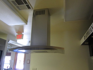 General Electric PV977NSS Ceiling Hood  DISPLAY For Retail Pick up Only