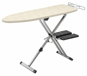 "Rowenta IB9100D1 Professional Compact Ironing Board 54x18""+Hot Iron Rest and Linen Rack Tray Underneath"