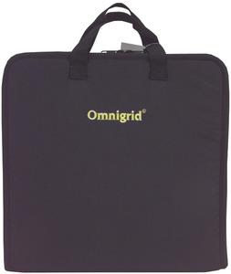 "Omnigrid OGQTC Quilters 14x14x2.75"" Travel Case Storage Bag, Handles, Shoulder Strap"