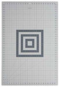 "Fiskars 24x36"" Self Healing Rotary Cutting Mat, Gridded, Bias Angle Lines"