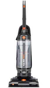 "Hoover, CH53010, Task, vac, Bag, less, Commercial, Upright, HEPA, Vacuum, Cleaner, 35"", 3, Wire, Power, Cord, 5, Height, Adjustments, 8', Stretch, Hose, 12, Tools"