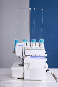 Juki MO734DE Factory Serviced 432 Thread Serger, Auto Needle Threaders, Lay In Tensions, Built In Rollled Hems, Differential Feed, 1 Left