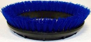 "Oreck Orbiter 237058 12"" Scrub Brush, Blue .020"" PP Bristle"