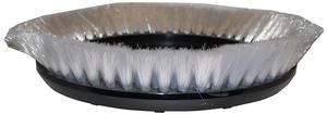 "Oreck 237046 12"" Carpet Brush Soft, White .008"" PP Bristle"