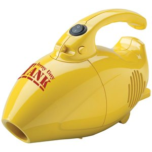 Carpet Pro Smart Choice SCT-1.2 Teeny Tiny Tank Mini Hand Vac Handheld Vacuum Cleaner 6CS Yellow, 600W, 15' Power Cord, 3 Pounds