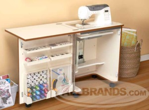 Tailormade Compact Sewing Cabinet C W001 White Or Hs C58