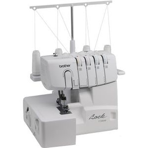 Brother R1134DW (1034D Upgrade) Overlock Serger with all 6 Presser Feet Including Reg and Roll Hem Foot  on the Machine, Made in Taiwan, Not China