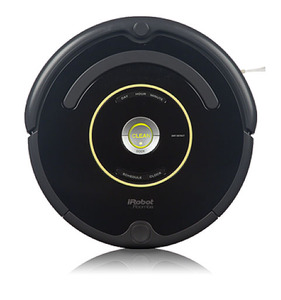 iRobot Roomba 650 Robotic Vacuum Cleaner Cleaning Robot, Auto Virtual Wall, Self-Charging Home Base, Battery Charger, AeroVac Bin & Filters, 8Lbs, 1Yr