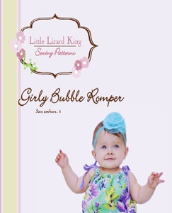 Little Lizard King LLK311 Girls Bubble Romper 0-3 to 5yrs