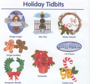 Cactus Punch Lite CPL01 Holiday Tidbits CD