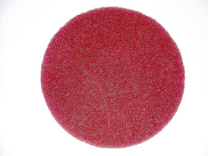 Oreck MS2448-OC Scrubber Accessory MS1064 Spray Buffing Pad (Red)