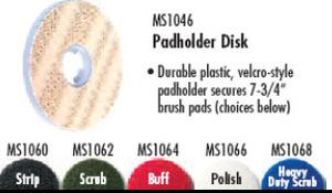 Oreck MS2448-OC Scrubber Accessory MS1046 Drive Pad Holder