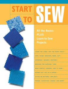 Start to Sew book, by The editors of Creative Publishing international, Paperback, 64 Pages