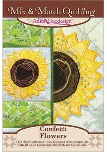 Anita Goodesign 216AGHD Confetti Flowers Quilting Designs CD