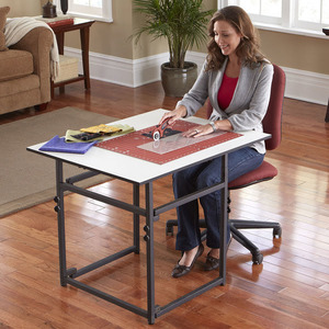 "41353: Sullivans 39271 Add-A-Table Expanding Cutting Table 37x30"" Adjustable"
