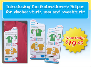 41365: DIME EH0001 Embroiders Helper Placement Ruler, L or R Chest Placement