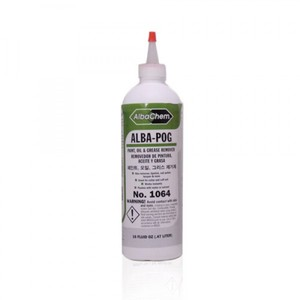 Albatross AlbaPOG 1064 Paint Oil Grease Spot Remover, 16oz Bottle, 3Pk
