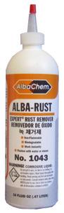 Albatross EXPERT 1043 Rust Spot Remover, 6 Pack 16 oz. Bottles
